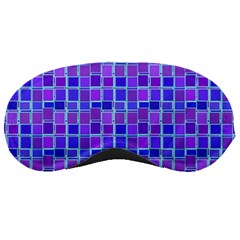 Background Mosaic Purple Blue Sleeping Masks