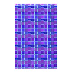 Background Mosaic Purple Blue Shower Curtain 48  x 72  (Small)