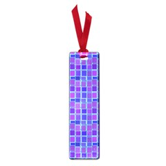 Background Mosaic Purple Blue Small Book Marks