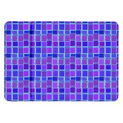 Background Mosaic Purple Blue Samsung Galaxy Tab 8.9  P7300 Flip Case