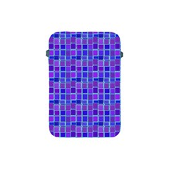 Background Mosaic Purple Blue Apple iPad Mini Protective Soft Cases