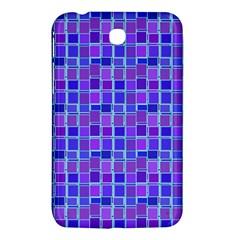Background Mosaic Purple Blue Samsung Galaxy Tab 3 (7 ) P3200 Hardshell Case
