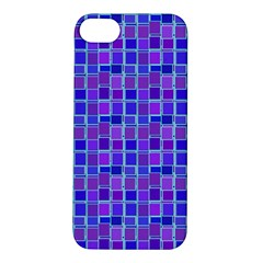 Background Mosaic Purple Blue Apple Iphone 5s/ Se Hardshell Case