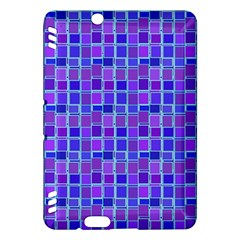 Background Mosaic Purple Blue Kindle Fire HDX Hardshell Case