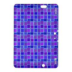 Background Mosaic Purple Blue Kindle Fire HDX 8.9  Hardshell Case