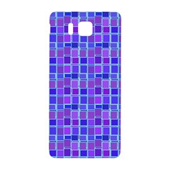 Background Mosaic Purple Blue Samsung Galaxy Alpha Hardshell Back Case