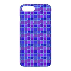 Background Mosaic Purple Blue Apple iPhone 7 Plus Hardshell Case
