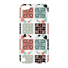 Mint Black Coral Heart Paisley Apple Ipod Touch 5 Hardshell Case