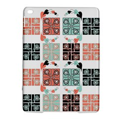 Mint Black Coral Heart Paisley Ipad Air 2 Hardshell Cases