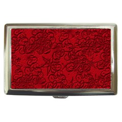 Christmas Background Red Star Cigarette Money Cases