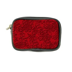 Christmas Background Red Star Coin Purse