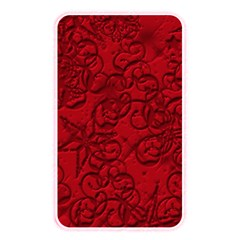 Christmas Background Red Star Memory Card Reader