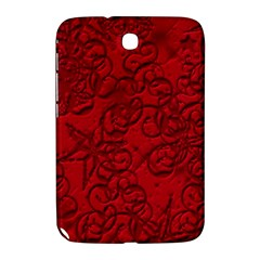 Christmas Background Red Star Samsung Galaxy Note 8.0 N5100 Hardshell Case