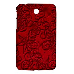 Christmas Background Red Star Samsung Galaxy Tab 3 (7 ) P3200 Hardshell Case