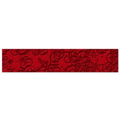 Christmas Background Red Star Flano Scarf (Small)