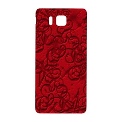 Christmas Background Red Star Samsung Galaxy Alpha Hardshell Back Case
