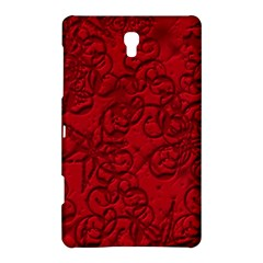 Christmas Background Red Star Samsung Galaxy Tab S (8.4 ) Hardshell Case