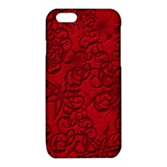 Christmas Background Red Star iPhone 6/6S TPU Case