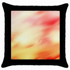 Background Abstract Texture Pattern Throw Pillow Case (Black)