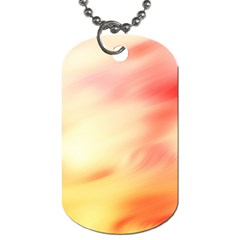 Background Abstract Texture Pattern Dog Tag (One Side)