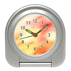 Background Abstract Texture Pattern Travel Alarm Clocks