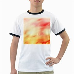 Background Abstract Texture Pattern Ringer T-Shirts