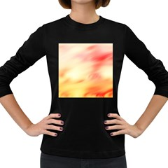 Background Abstract Texture Pattern Women s Long Sleeve Dark T Shirts