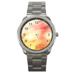 Background Abstract Texture Pattern Sport Metal Watch