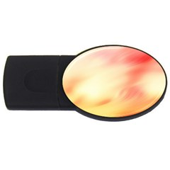 Background Abstract Texture Pattern USB Flash Drive Oval (4 GB)