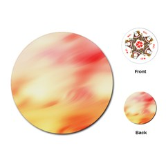 Background Abstract Texture Pattern Playing Cards (round)