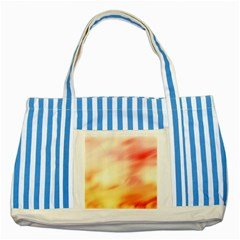 Background Abstract Texture Pattern Striped Blue Tote Bag