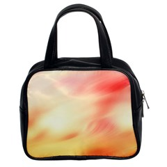 Background Abstract Texture Pattern Classic Handbags (2 Sides)