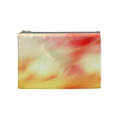 Background Abstract Texture Pattern Cosmetic Bag (medium)