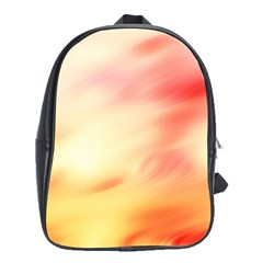 Background Abstract Texture Pattern School Bags(Large)