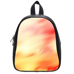 Background Abstract Texture Pattern School Bags (Small)