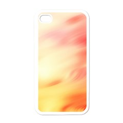 Background Abstract Texture Pattern Apple iPhone 4 Case (White)