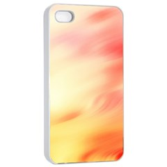 Background Abstract Texture Pattern Apple iPhone 4/4s Seamless Case (White)