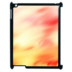 Background Abstract Texture Pattern Apple iPad 2 Case (Black)
