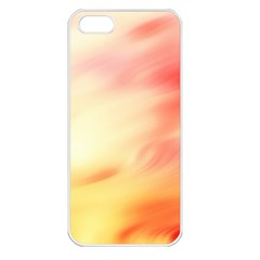 Background Abstract Texture Pattern Apple iPhone 5 Seamless Case (White)