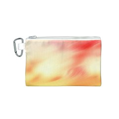 Background Abstract Texture Pattern Canvas Cosmetic Bag (S)
