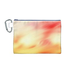 Background Abstract Texture Pattern Canvas Cosmetic Bag (m)