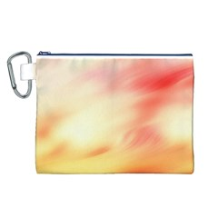 Background Abstract Texture Pattern Canvas Cosmetic Bag (L)