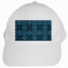 Abstract Pattern Design Texture White Cap