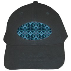 Abstract Pattern Design Texture Black Cap
