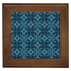 Abstract Pattern Design Texture Framed Tiles
