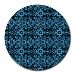 Abstract Pattern Design Texture Round Mousepads