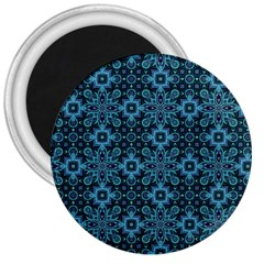 Abstract Pattern Design Texture 3  Magnets