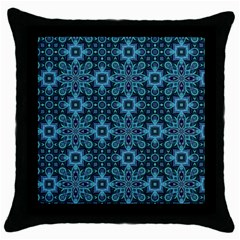 Abstract Pattern Design Texture Throw Pillow Case (Black)