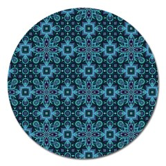 Abstract Pattern Design Texture Magnet 5  (Round)