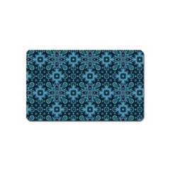 Abstract Pattern Design Texture Magnet (Name Card)